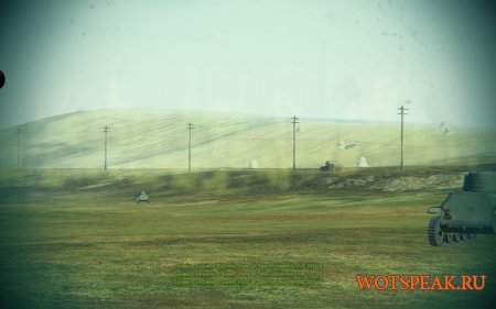 Тундра мод - убираем кроны деревьев, удаляем листву для World of tanks 0.9.18 WOT (+ вариант с черным небом)