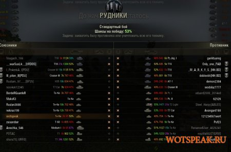 Рабочий оленемер (мод XVM) - последняя версия оленеметра для World of tanks 0.9.21.0.3 WOT