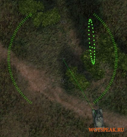 Мод снайперский прицел для арты World of tanks 1.0.0.3 WOT