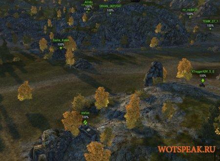 Мод снайперский прицел для арты World of tanks 1.10.0.2 WOT