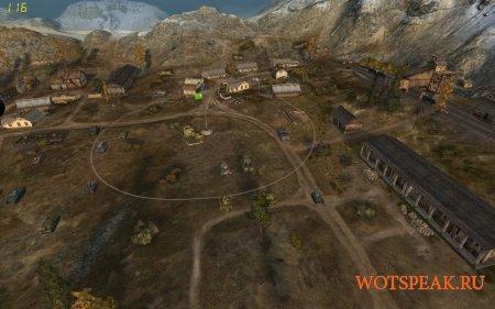 Командирская камера - отдаление обзора вверх для World of tanks 1.1.0.1 WOT