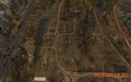 Командирская камера - отдаление обзора вверх для World of tanks 1.9.0.3 WOT (2 варианта)