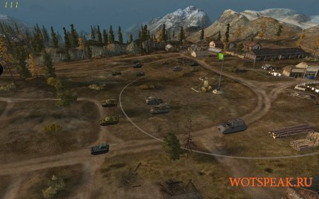Командирская камера - отдаление обзора вверх для World of tanks 0.9.19.0.2 WOT