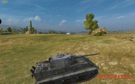 Белые трупы танков мод для WOT 1.6.1.4 World of tanks