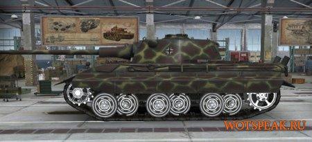 Раскрашенные белые гусеницы (катки) для World of tanks 1.7.1.2 WOT
