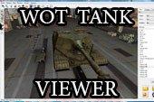 Blender Tank Viewer - программа для просмотра 3D моделей танков в World of tanks 0.9.15.2 WOT