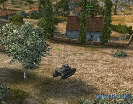 Удаление простреливаемых объектов в World of tanks 1.4.0.2 WOT