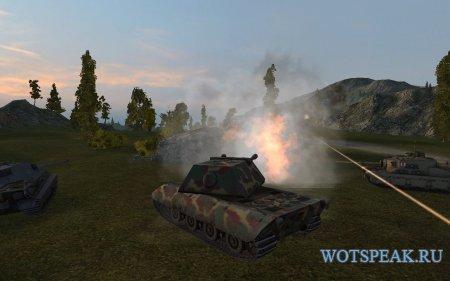 Обзор тяжелого немецкого танка E 100 - гайд по E100 в World of tanks