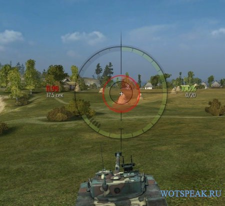Прицел как у Дезертода - снайперский и аркадный прицел Desertod World of tanks 1.0.2.2 WOT (2 версии - ENG + RUS)
