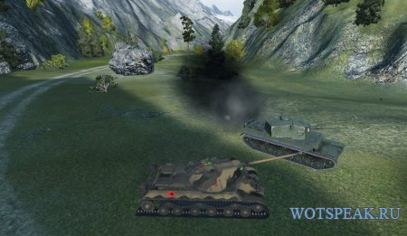 Цветные отметки (декали) попаданий по танку World of tanks 1.7.1.2 WOT (4 варианта)