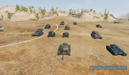 Удаление камуфляжей, надписей и эмблем с танков в World of tanks 1.6.0.7 WOT