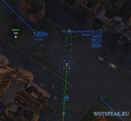 Отличный прицел MeltyMaps MathMod для World of tanks 1.1.0.1 WOT (2 версии)