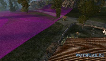 Широкие и заметные границы карт для World of tanks 0.9.22.0.1 WOT (2 варианта)