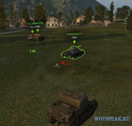 Индикатор запаса бронепробития для World of tanks 1.4.1.0 WOT