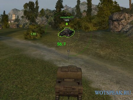 Индикатор запаса бронепробития для World of tanks 1.2.0.1 WOT