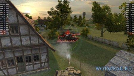 Быстрый ремонт сбитых гусениц пробелом World of tanks 1.3.0.1 WOT (2 варианта)