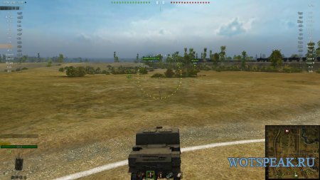 Удобный прозрачный интерфейс в бою для World of tanks 1.12.0.0 WOT