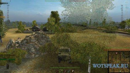 Удобный прозрачный интерфейс в бою для World of tanks 1.2.0.2 WOT
