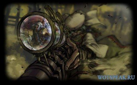 Картинка загрузки клиента в стиле аниме для World of tanks 1.9.1.1 WOT