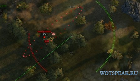Автоматический прицел для арты - автоприцел для артиллерии для World of tanks 1.0.1.1 WOT