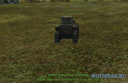 Радио Варгейминг ФМ в ангаре и в бою - скачать радио WG FM для World of Tanks 1.4.0.1 WOT