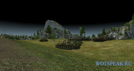 Читерный мод на черное небо для World of tanks 1.2.0.1 WOT (2 варианта)