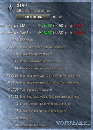 Танк Опыт - мод расчета количества боев для изучения следующего танка в World of tanks 1.4.0.1 WOT
