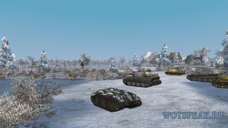 Мод: одинаковое небо на всех картах для World of tanks 1.13.0.1 WOT