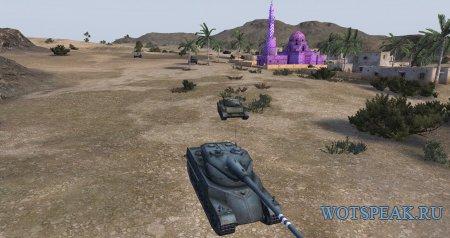 Мод штрихования неразрушаемые объектов для World of tanks 0.9.22.0.1 WOT