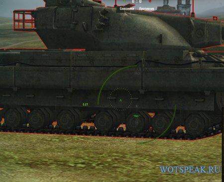 Автоприцел: захват, упреждение, выбор точки - autoaim от sae для World of tanks 0.9.19.1.2 WOT