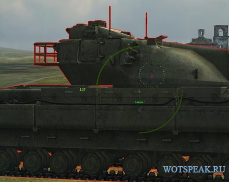 Автоприцел: захват, упреждение, выбор точки - autoaim от sae для World of tanks 1.7.1.2 WOT