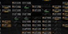 Вертикальное дерево развития для World of tanks 1.7.0.1 WOT