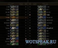 3D иконки танков (4 вида) от DJON_999 для WOT 1.3.0.1 World of tanks