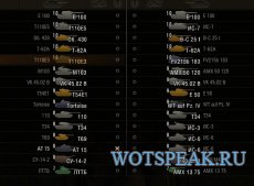 Иконки танков на основе стандартных для WOT 1.0.2.3 World of tanks от betax (3 вида)