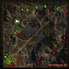Мод на направление стволов противников на миникарте для World of tanks 0.9.18 WOT