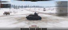 """Крутой ангар """"Прошлогодний снег"""" для World of tanks 0.9.22.0.1 WOT"""