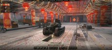 Китайский ангар в стиле фэншуй для World of tanks 0.9.8 WOT