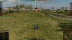 Светлячок - индикация засвеченных врагов и расчет дамага по засвету для World of tanks 1.1.0.1 WOT