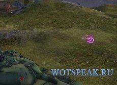 """Мод """"Тылы"""" - разноцветный индикатор ближайших врагов для World of tanks 1.5.1.1 WOT"""