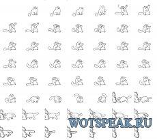 Анимационная лампочка шестого чувства в виде кота Simon для World of tanks 1.4.0.2 WOT