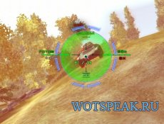 Прицел Bushmaster с отображением толщины брони для World of tanks 1.11.0.0 WOT (RUS+ENG версии)