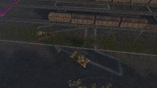 Крупная нумерация квадратов на карте для World of tanks 1.12.0.0 WOT (несколько версий)