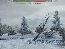 Battle Observer - ХП команд + нанесенный урон + дебаг панель + часы для World of Tanks 1.7.0.2 WOT