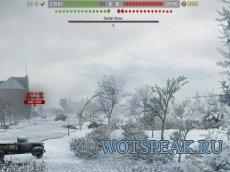 Battle Observer - ХП команд + нанесенный урон + дебаг панель + часы для World of tanks 0.9.21.0.3 WOT
