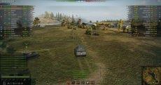 Рейтинг игроков в бою без XVM для World of tanks 1.10.1.4 WOT (3 варианта)