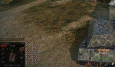 Custom Damage Panel - простая панель повреждений для World of tanks 1.0.2.1 WOT (3 варианта)