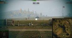 Белый круг в месте попадания в танк врага без засвета для World of tanks 1.5.1.1 WOT