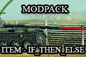 ITEM - IF_THEN_ELSE Modpack - тень, рентген, хамелеон, лазеры, тундра и др. для World of tanks 0.9.14 WOT (8 модов)