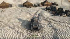 Мод на ангар в пустыне для World of tanks 1.10.0.2 WOT