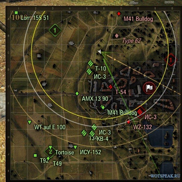 Скачать мод для world of tanks миникарта